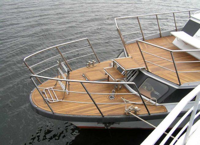 Судовое оборудование для яхт из нержавейки